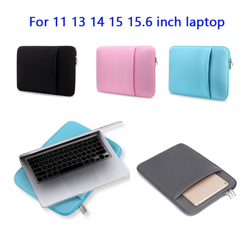 Laptop Bag 11 13 14 15 15.6 Inch Case For MacBook Air Pro 2019 Mac Book Computer Fabric Sleeve Cover Capa Accessories