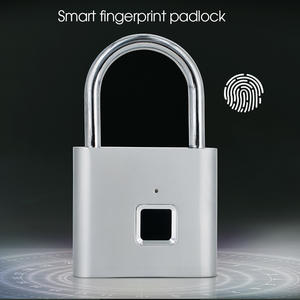 Door-Lock Biometric Fingerprint Smart Keyless Thumbprint Quick-Unlock USB Rechargeable