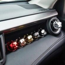 Creative בולדוג מטהר אוויר מכונית בושם רכב קישוט אוטומטי Geur קליפ בולדוג ניחוח ריח פרפיום Voiture רכב מפזר