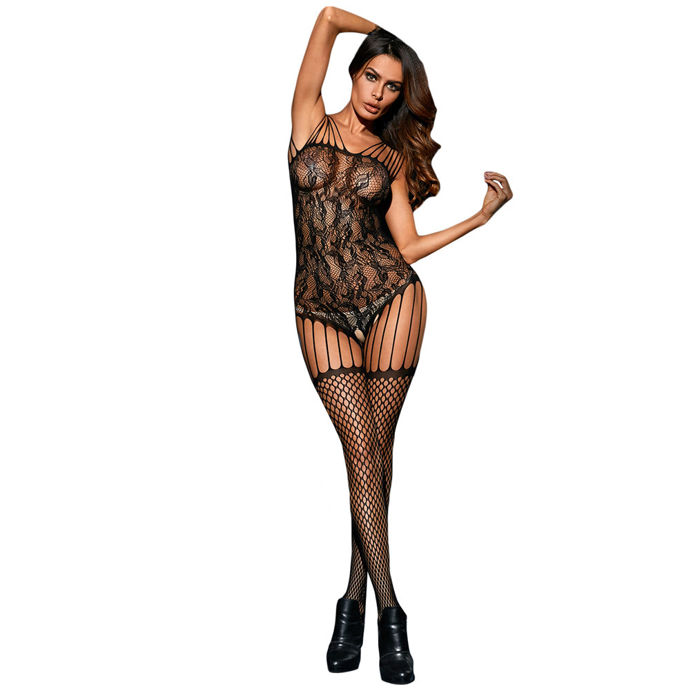 Shi Ying Sexy Lingerie New Style Tube Top Multi-Article Camisole Lace Seamless Body- Stocking Pajamas 79972