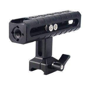 Image 5 - MAGICRIG Câmera Alça NATO Queijo Alça Superior com Arri Buraco Localização/Sapata Fria para Filmadora DSLR Camera Gaiola Gaiola rig