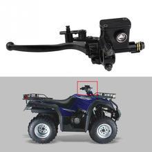 """7/"""" 22 мм передний левый главный цилиндр тормозной муфты рычажный насос для 50cc 110cc 150cc квадроцикл ATV части мотоцикла из алюминиевого сплава"""