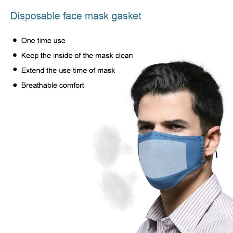 PM2.5 Face Mask Filter Activated Carbon Breathing Filters Anti Haze Anti Dust Mouth Mask Filter