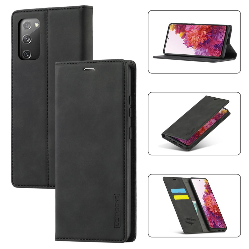 Luxury Magnetic Wallet Case For Samsung Galaxy A11 A21S A31 A41 A51 A71 S8 S9 S10 Plus S20 FE Note 20 Ultra Leather Flip Cover