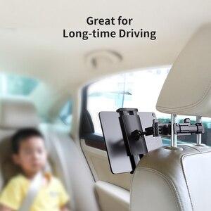 Image 5 - ROCK Auto Telefon Halter Halterung für iPad Mini Pro Tabletten Handys Hinten Meer Stehen Kissen Halter Ständer Halter für iPhone держател