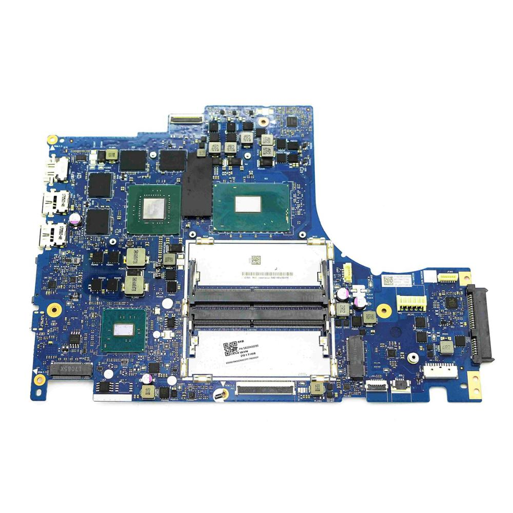 5B20N00280/DY512 NM-B191 Genuíno Trabalho Motherboard w/i7-7700HQ 2.8GHz CPU & 1050Ti GTX GPU para Lenovo Legião y520-15IKBN