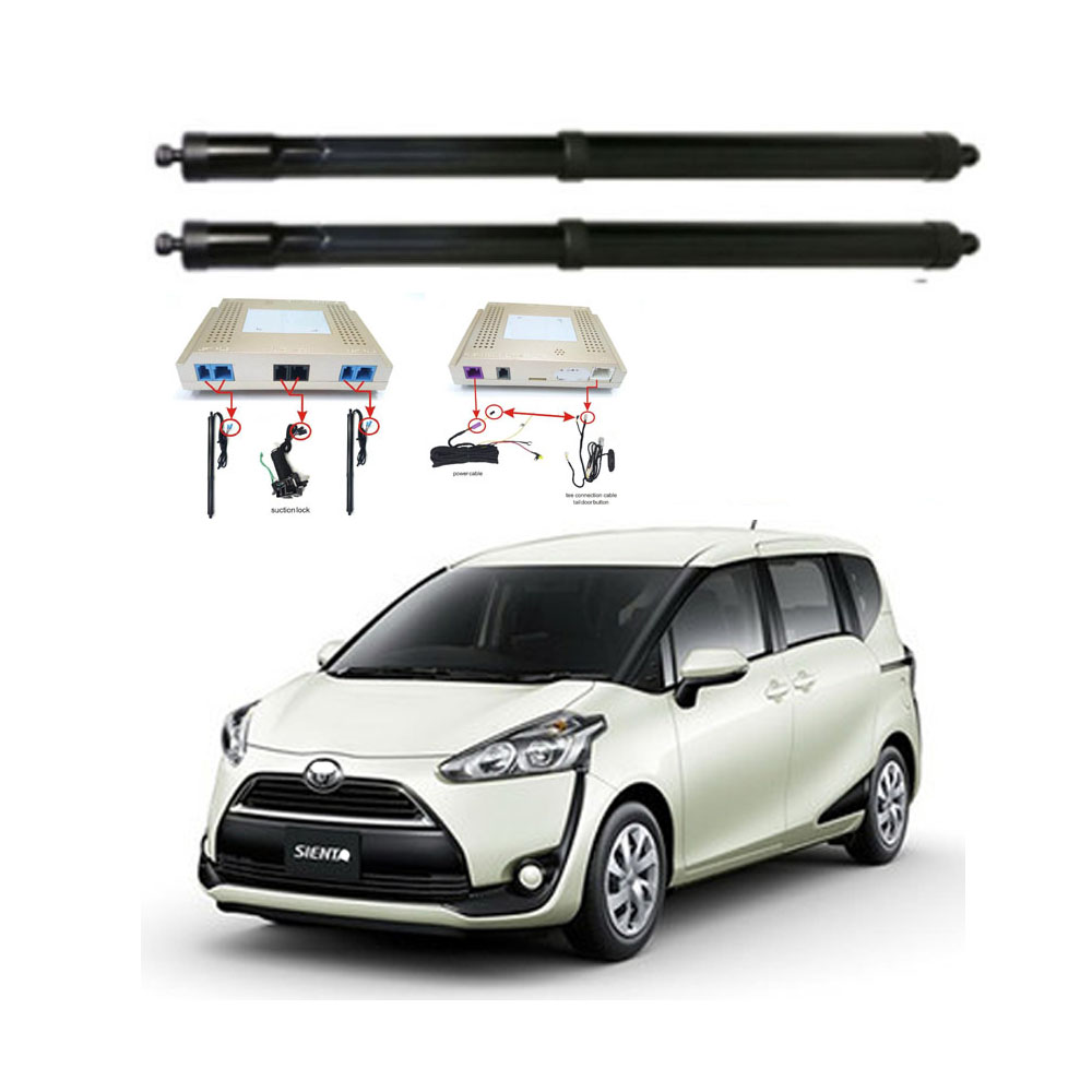 New Electric Tailgate Refitted For Toyota SIENTA 2017 - Tail Box Intelligent Electric Tail Door Power Tailgate Lift Lock