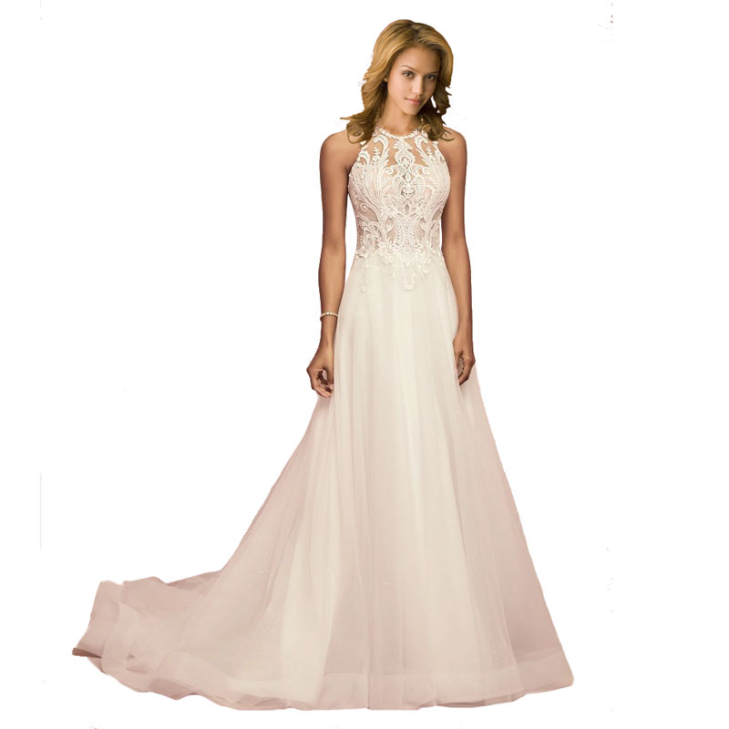robe de soiree sleeveless Long   Evening     Dress   Sexy Prom Party Dressees lace   evening   gown white formal   dress