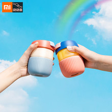 Xiaomi Mini Rainbow Cup Portable Creativity Seal Leakproof Coffee Accompanying Mug With Cover Bottle Heat Insulation Smart Home(China)