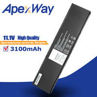 ApexWay 11.1V 3100mAh Laptop Battery for Dell Latitude 34GKR 451-BBFT 451-BBFY 14-inch series Latitude E7440 E7450 Touch