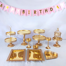 Get more info on the Tobs  Cupcake Tower Stand Mirror Crystals Cake Stand Decor Supplies Wedding Set Party Dessert Display Decor Tray Metal Round