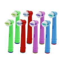 8 шт сменные насадки для зубной щетки oral b электрической advance