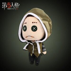 Игра идентичность V Милая классная Nabb Subedar DIY Mercenary статуя выжившего Косплей плюшевая кукла рождественский подарок