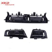 Передняя правая и левая и Центральная панель AC вентиляционное отверстие для BMW 5 серии 520 523 525 64229209136 64229166889 64229166890