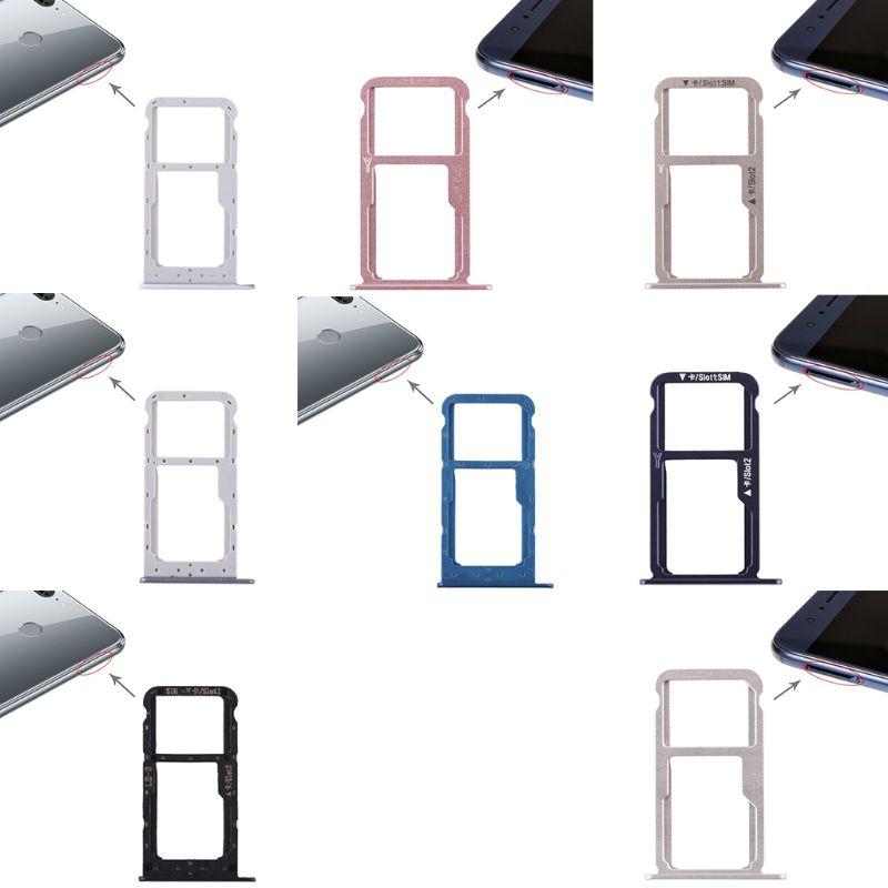 SIM Card Tray Dual Slot Holder Carrier Repair Part For Huawei Honor 8/Honor 9 Lite