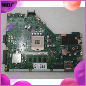 Материнская плата для ноутбуков ASUS X55CR X55VD материнская плата для ПК материнская плата X55VD SR0DR 4GB 100% ТЕСТ ОК