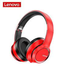 Lenovo HD200 cuffie senza fili Bluetooth BT5.0 Super Bass Hifi Sound Noise Cancelling cuffie musicali lunga durata in Standby con microfono