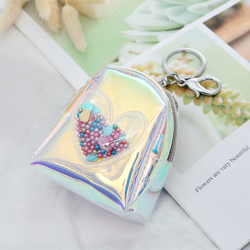 US $1.16 |1PC New Fashion Cute Coin Bag With Key Ring Women PVC Coin Purse Zipper Mini Wallets Change Money Pouch Bags For Kids Girl XYR-in Coin Purses from Luggage & Bags on AliExpress