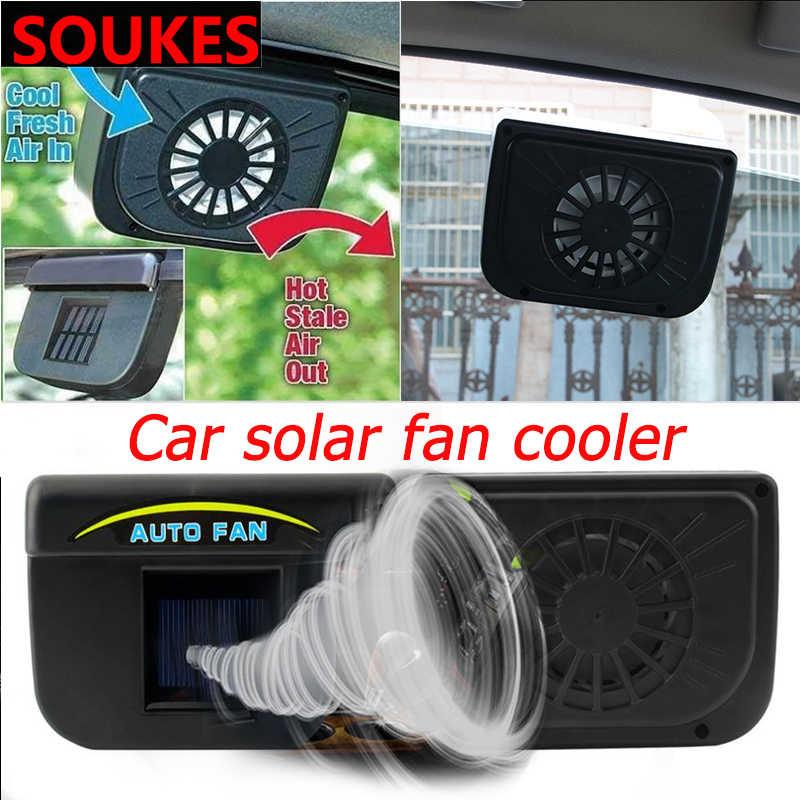 Ventilateur de refroidissement automatique portatif d'air de voiture solaire pour Nissan Qashqai Opel Astra J H G Skoda Octavia A7 2 Volvo XC90 V70 Subaru