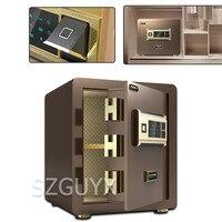 Embedded all steel anti theft safe Office Home Safe 40cm password fingerprint Remote monitoring Safe