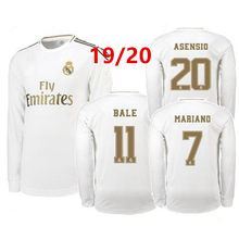 19 20 Long sleeve jersey Real Madrides Soccer Jersey 19 20 Luka Jovic MODRIC Hazard 2020 3rd ISCO ASENSIO Adult Football Shirts(China)