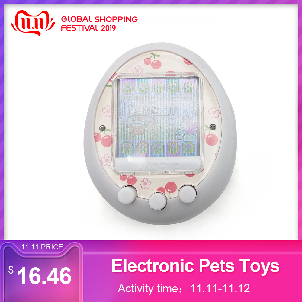 Funny Cartoon Electronic Pets Toys Nostalgic Pet Virtual Pet Interactive Toy Digital HD Color Screen Electronic Gadgets