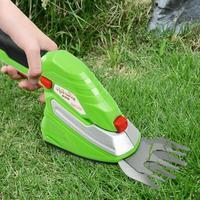 Cordless Electric Lawn Mower Set Weeding Scissors with 2 Blades Home Garden Grass Trimmer 4.5V DC EU plug Garden Tools Supplies