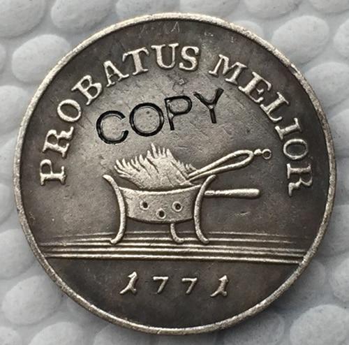 Польша 1771 копия монет 21,2 мм