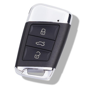 Image 2 - For VW Golf MK7 Jetta Tiguan Polo for Superb Octavia Yeti Fabia MQB Car Modified Replacement Remote Key Shell Key Case Cover