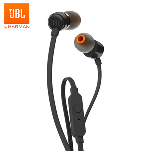 JBL T110 original JBL Wired Earphones Stereo Music Sports Bass Earbuds HIFI Headset Earphone In-line Control Handsfree with Mic(China)