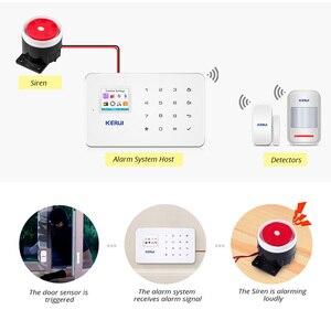 Image 3 - Kerui G18 Apps Steuer Home Security Alarm System 433MHz GSM Einbrecher Alarme Anzug Motion Detektor Alarmas De Seguridad Para casa
