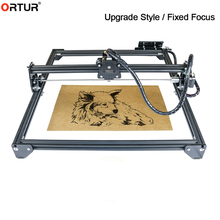 Fast Delivery Ortur Laser Engraving Marking Machine CNC DIY 7W 15W 20W Fixed Focus for Wood Plastic Bamboo Rubber Stone Engraver