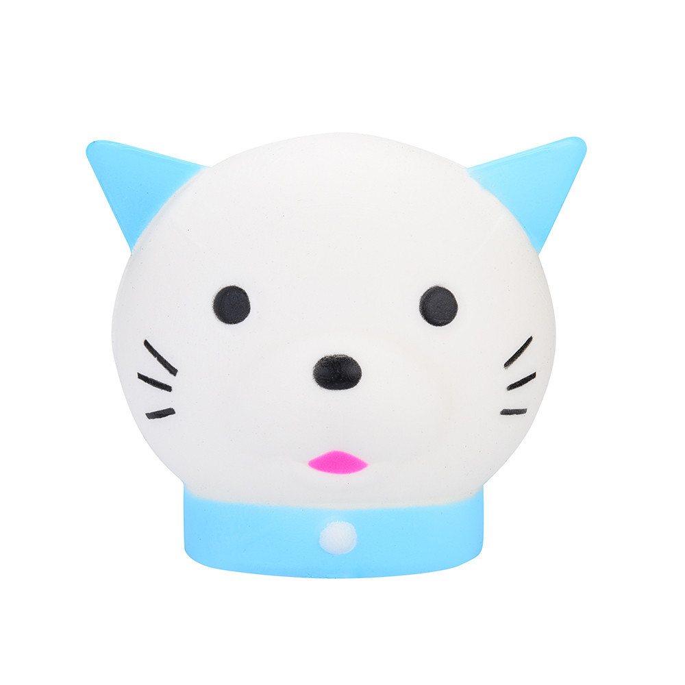 Kawaii Cat Slow Rising Kids Toys Stress Relief Toy Cartoon Decoration Doll Stretchy Healing Toys Squeeze Kid Adult Toys Gift #A