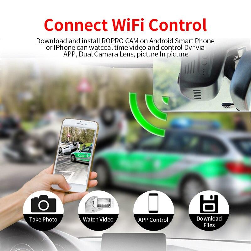 E-ACE C21 Скрытая мини Автомобильная камера wifi видео регистратор Dashcam Novatek 96655 SONY IMX 323 Full HD 1080P Автомобильный видеорегистратор
