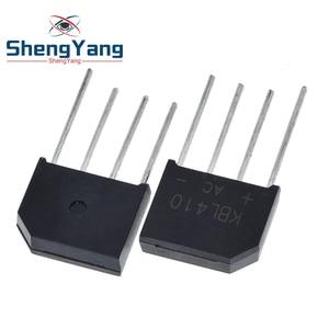 5PCS/Lot KBL410 KBL-410 4A 1000V Single Phases Diode Rectifier Bridge Wholesale