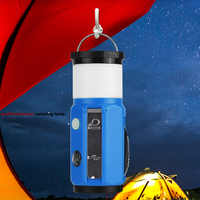 Outdoor Multifunctional Camping Lamp Tool Night Tent Lighting Hanging and Standing with LED High Power Lamp Bead