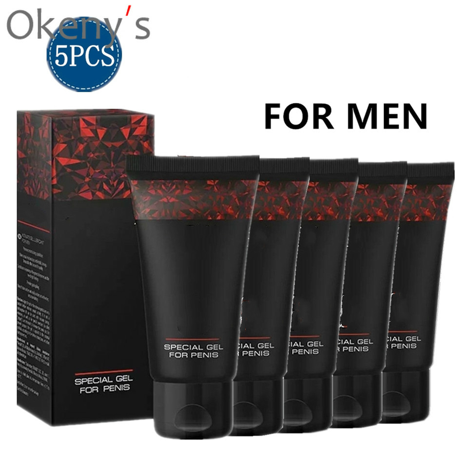 5pcs Russia Hot New Male Penis Enlargement Oil Products Increase XXL Cream Big Dick Viagra Pills Aphrodisiacl for Men Sex Produc image