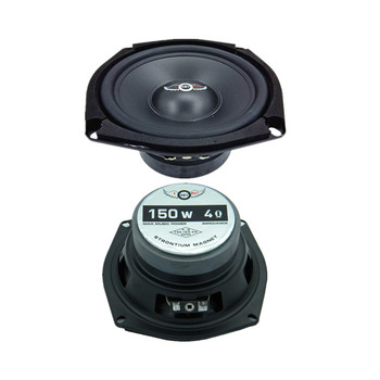 2Pieces/Lot Car Speaker 5.25 Inch 8 Ohm 150W Midrange Bass Music DIY HIFI Loudspeakers For Home Theater & Sound System
