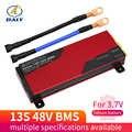 Daly 3,7 V Li-ion 13S 48V 80A 100A 120A 150A 200A 18650 PCM Placa de protección de batería BM con módulo de batería de litio equilibrada