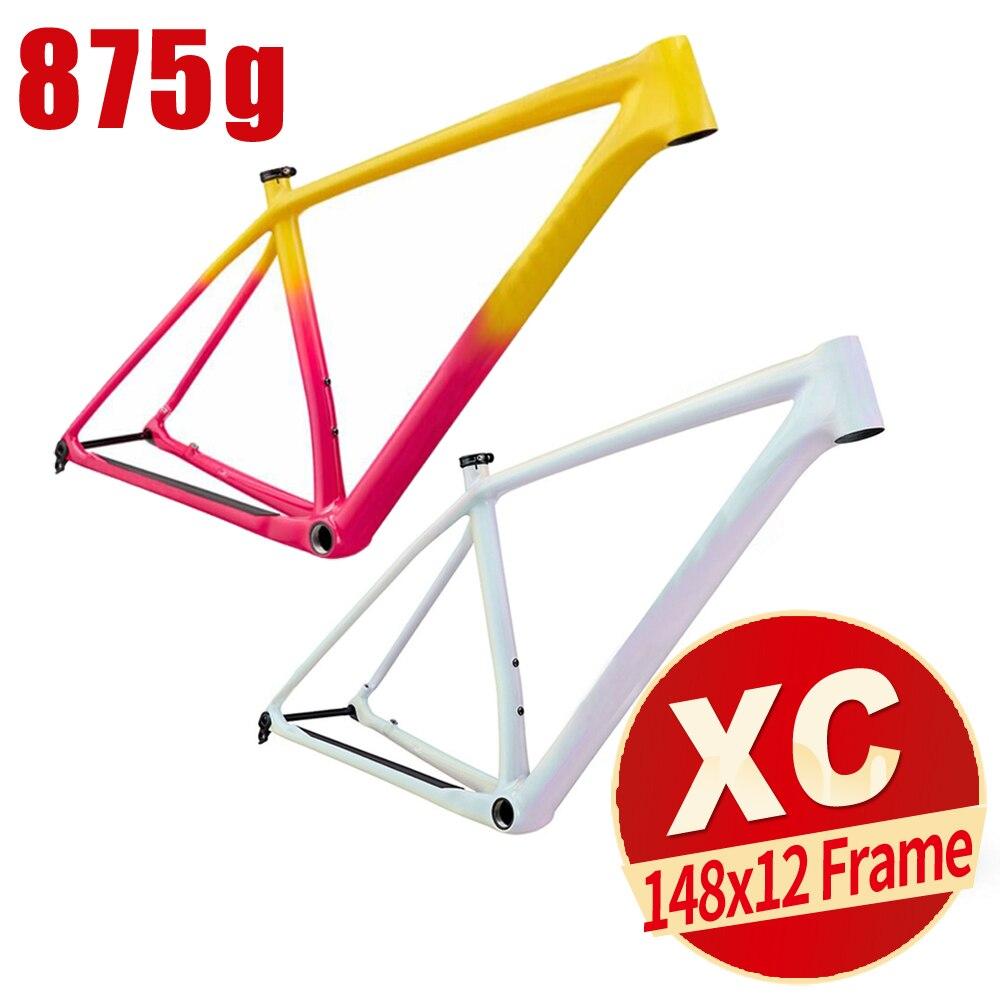 29er Bike Mtb-Frame Carbon Mtb Hardtail 29ER Full XC Disc-Brake Boost Mountain-Bike-Frame Full-Suspension Bikes Cross-Country XC