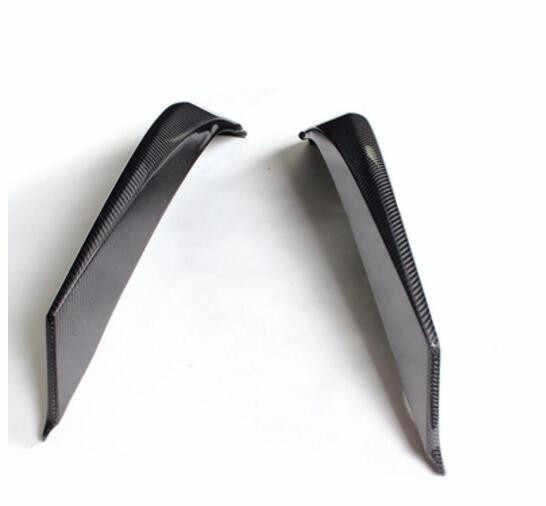 Parachoques delantero de fibra de carbono Real para el coche alerón de labios Splitters Side ApronsFor BMW F06 F12 F13 640i 650i 6 Series M6 2012-2019