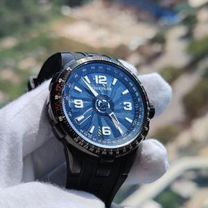 Image 3 - Reef Tiger/RT relojes deportivos automáticos para hombre, reloj militar de acero negro, luminoso, resistente al agua, marca de lujo, RGA3059, 2020
