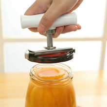 Can Opener Jar Bottle Adjustable Manual Stainless Steel Easy Kitchen Tool Kitchen Can Opener single handle can safe can opener kitchen can plastic can opener manual bottle opener