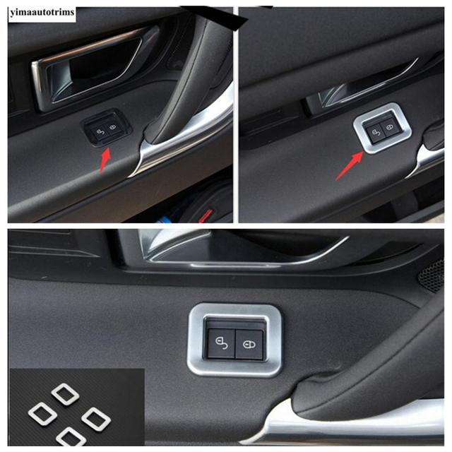 Фото авто замок двери автомобиля пряжка блестки защитный чехол накладка