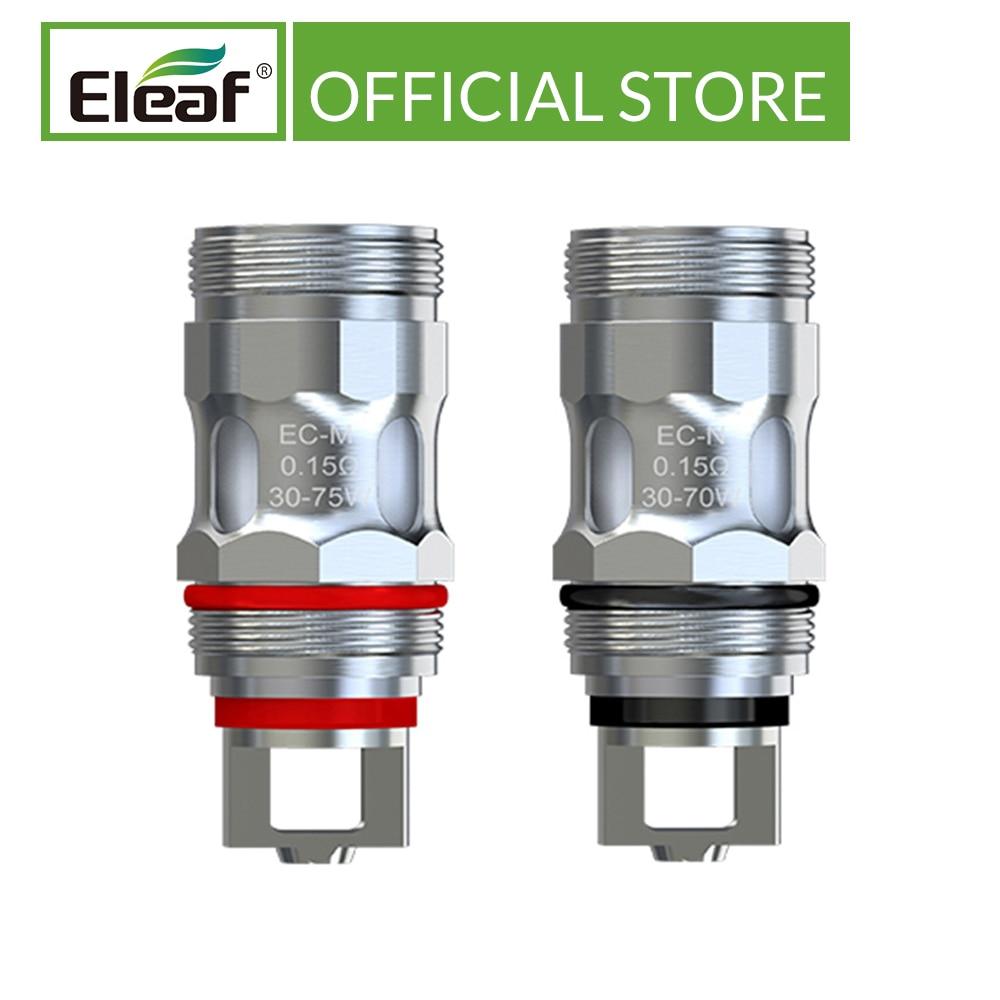 5pcs/lot Original Eleaf EC-M/EC-N 0.15ohm Head Replacement Coil Fit For IJust ECM Electronic Cigarette Coil Head