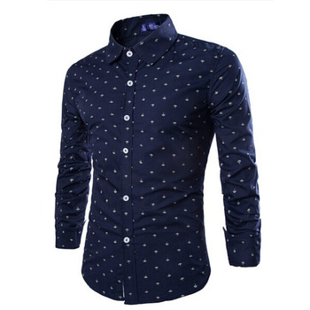 ZOGAA Casual Business Dress Shirt Men Long Sleeve Slim-fit Shirts Solid Floral Formal Office Shirt Male Turn- down Collar Blouse spring men long sleeve turn down collar single breasted shirts camisa solid color oxford pure cotton slim fit vestido shirts