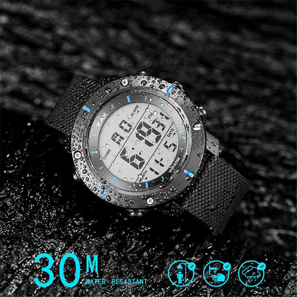 Cool Sport Watch Fashion High-End Men's 30M Waterproof Electronic Watch Series Men's Models Relgio Esportivo Спортивные часы