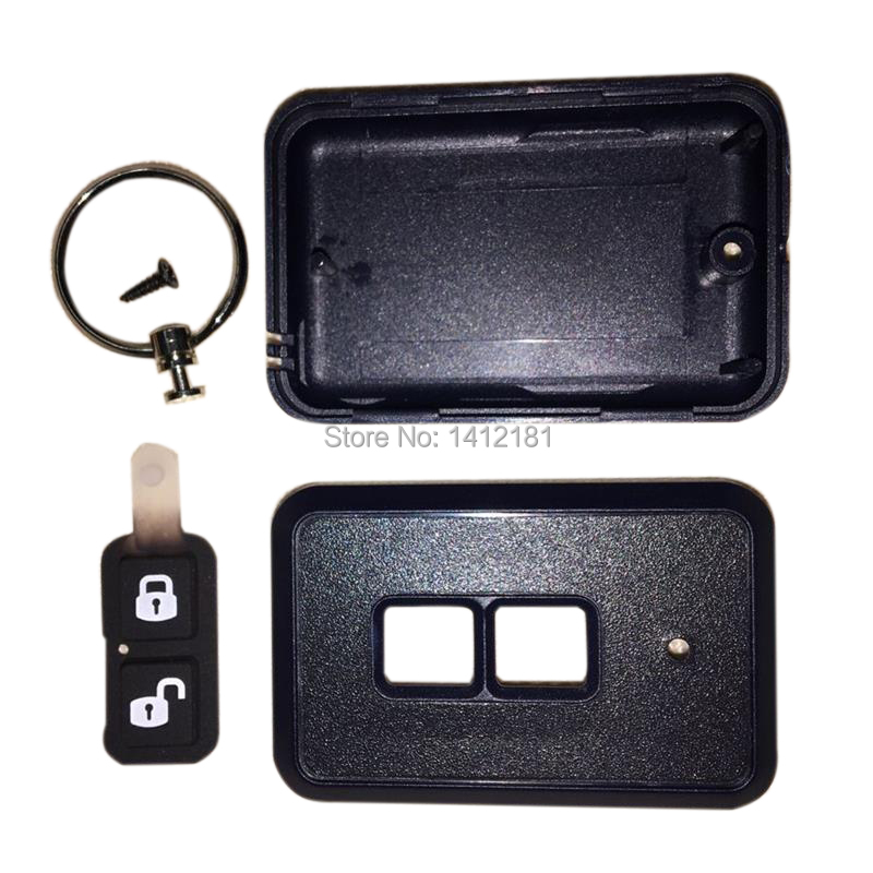 Remote Body Case Keychain Trinket For 2 Way Car Anti-theft Alarm System One Way Remote Control Key Fob Chain Starline A91 A61