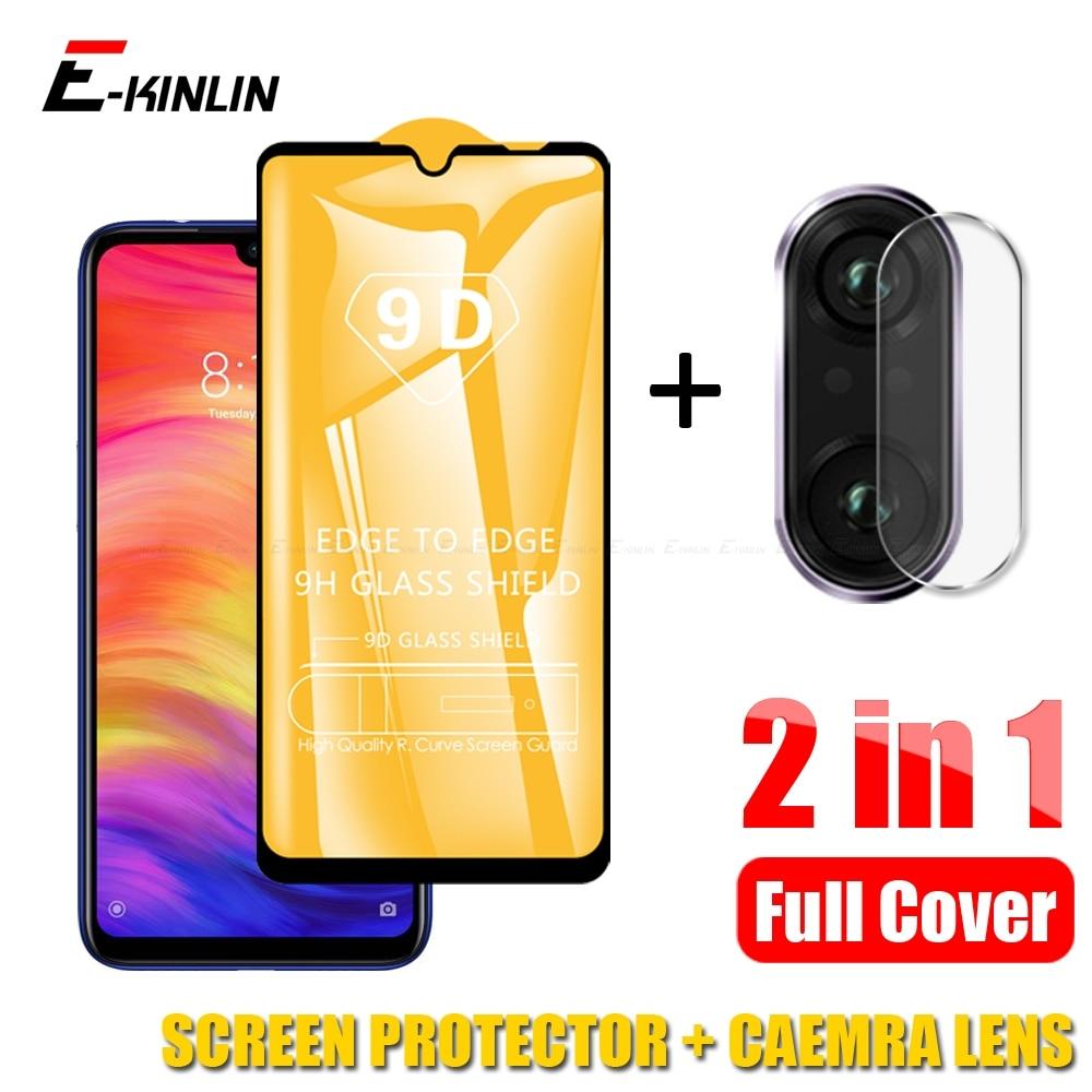 Camera Lens Film Tempered Glass For XiaoMi Mi 9T 9 8 A3 A2 Lite Glass Redmi Note 5 6 7 8 Pro Full Cover 9D Screen Protector