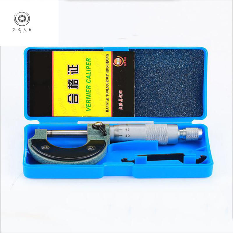 Internal micrometer 0-25mm spiral high quality metric hard alloy gauge standard measuring tool